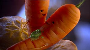 Aldi - Kevin The Carrot 2017